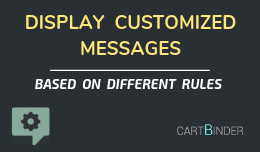 Customized Message Display: Create Custom Messages Based On Audience & Conditions